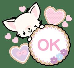 Kawaii Chihuahua 3 (English) sticker #3523310