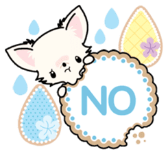 Kawaii Chihuahua 3 (English) sticker #3523311