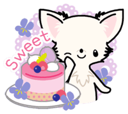 Kawaii Chihuahua 3 (English) sticker #3523314