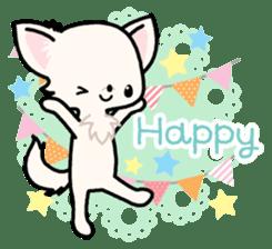 Kawaii Chihuahua 3 (English) sticker #3523315