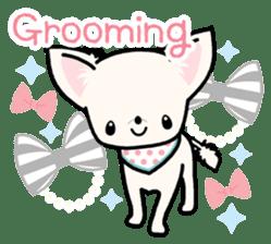 Kawaii Chihuahua 3 (English) sticker #3523332