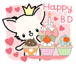 Kawaii Chihuahua 3 (English) sticker #3523335