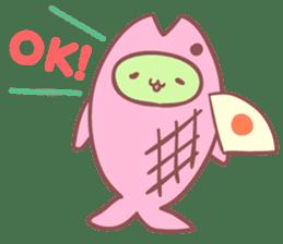 Mitchiri-Neko Mix2 Wakaba Diary Second sticker #3536916