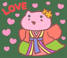 Mitchiri-Neko Mix2 Wakaba Diary Second sticker #3536945