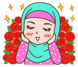 Hijab Girl sticker #3539355
