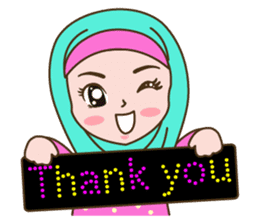 Hijab Girl sticker #3539359