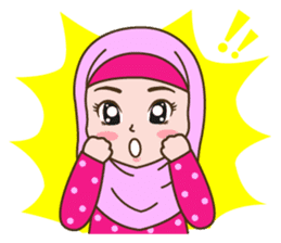 Hijab Girl sticker #3539372