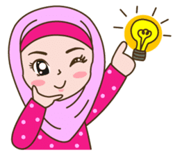 Hijab Girl sticker #3539373