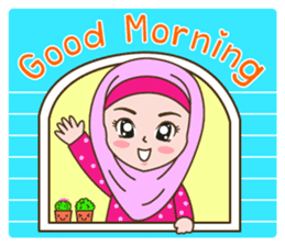 Hijab Girl sticker #3539376