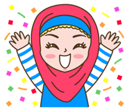 Hijab Girl sticker #3539378