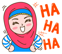 Hijab Girl sticker #3539379