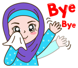 Hijab Girl sticker #3539389
