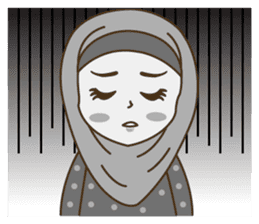 Hijab Girl sticker #3539393