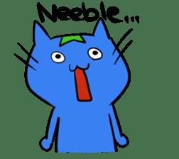 Constructed+ Esperanto Cat +language sticker #3541158