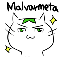 Constructed+ Esperanto Cat +language sticker #3541167