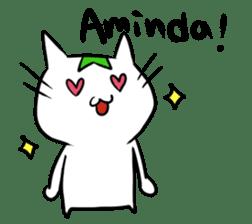 Constructed+ Esperanto Cat +language sticker #3541168