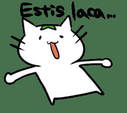 Constructed+ Esperanto Cat +language sticker #3541171