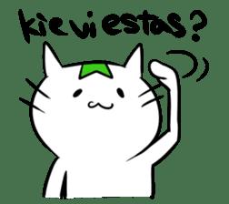 Constructed+ Esperanto Cat +language sticker #3541175