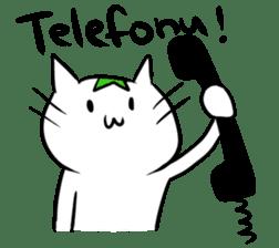 Constructed+ Esperanto Cat +language sticker #3541183