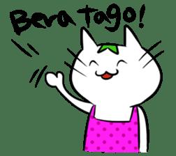Constructed+ Esperanto Cat +language sticker #3541189