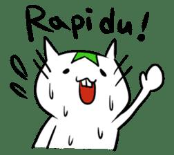 Constructed+ Esperanto Cat +language sticker #3541191