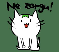 Constructed+ Esperanto Cat +language sticker #3541192