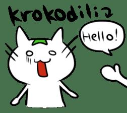 Constructed+ Esperanto Cat +language sticker #3541193