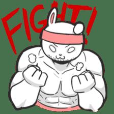 Rabbo the Muscle Rabbit sticker #3542583