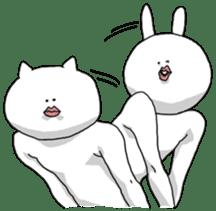 Stylish cat 2 sticker #3544954