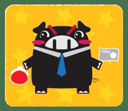 Revenge Wolf Everyday sticker #3546336