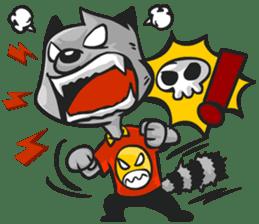 Rubi the Raccoon sticker #3547274