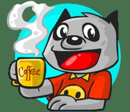 Rubi the Raccoon sticker #3547277