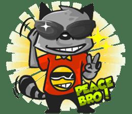 Rubi the Raccoon sticker #3547278