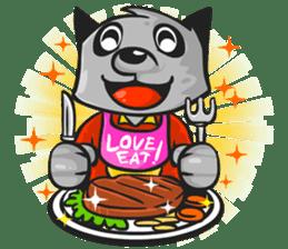 Rubi the Raccoon sticker #3547283