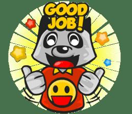 Rubi the Raccoon sticker #3547289