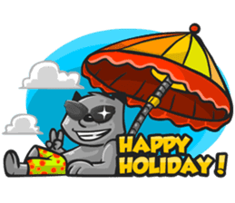 Rubi the Raccoon sticker #3547291