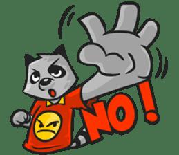 Rubi the Raccoon sticker #3547299