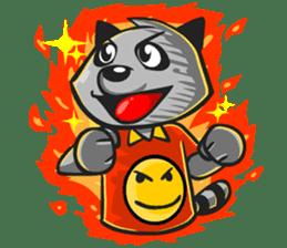 Rubi the Raccoon sticker #3547300