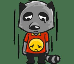 Rubi the Raccoon sticker #3547303