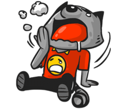 Rubi the Raccoon sticker #3547310