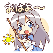 CUTE GIRL Alice second series sticker #3547874
