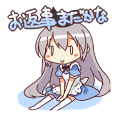 CUTE GIRL Alice second series sticker #3547881