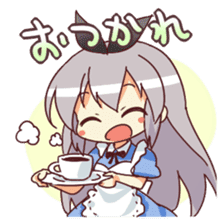 CUTE GIRL Alice second series sticker #3547894