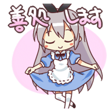 CUTE GIRL Alice second series sticker #3547911