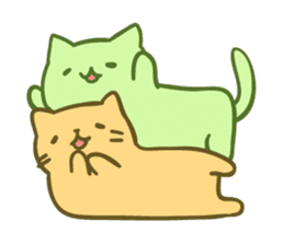 Mitchiri Neko Mix sticker #3549928