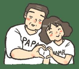 Papa Mama sticker #3552233