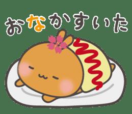 sakura the rabbit japanese sticker #3552321
