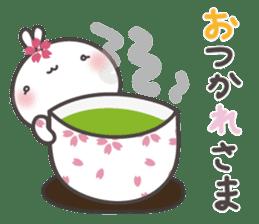 sakura the rabbit japanese sticker #3552347