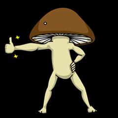 Mr. shiitake mushroom