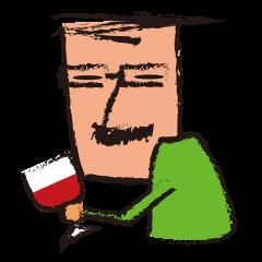 """Mr.""""HIGE""""-Wine"""